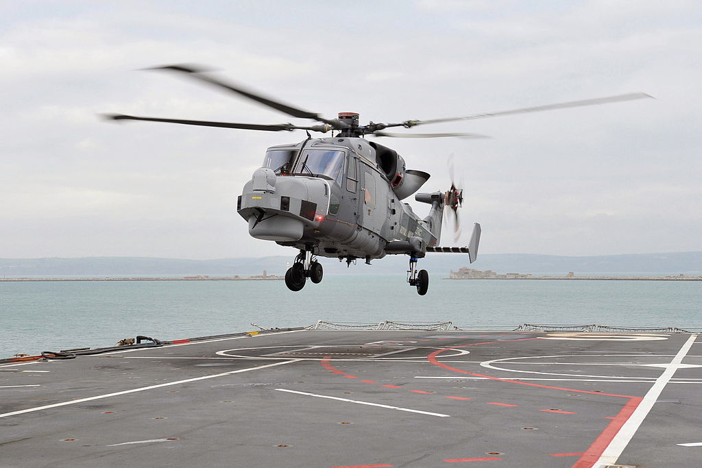 Wildcat maritime helicopter